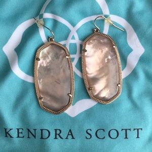 Kendra Scott Peach Illusion Danielle Earrings